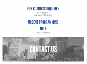 Contact us - codingzap.com