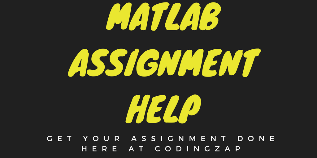 Do my Programming Project- Matlab programming help